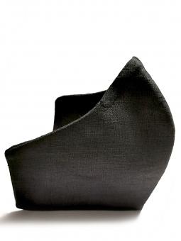 Mund-Nasen-Maske (anthrazit)